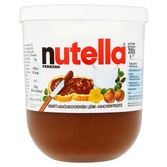 Nutella Hazelnut Spread with Cocoa 200 g