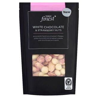 Tesco Finest fehércsokoládés eper és magvak keveréke 165 g