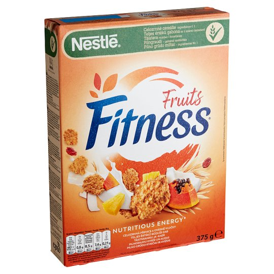 Nestlé Fitness Cereal with Whole Grain, Fruits 375 g