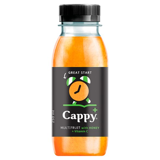 Cappy Plus Great Start Multifruit with Honey + Vitamin C 250 ml