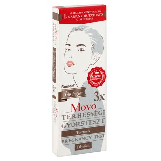 Movo Romed tesztcsík terhességi gyorsteszt 3 db