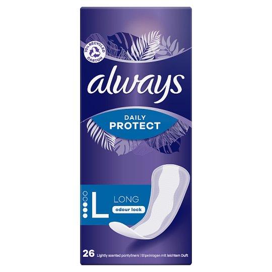 Always Dailies Extra Protect Large Tisztasági Betét, 26 db