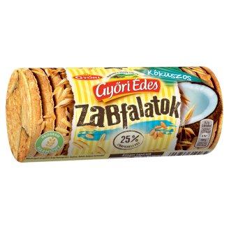 Győri Édes Zabfalatok Coconut Flavoured Oatmeal Biscuit 215 g
