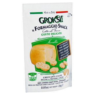 Groksí! Crispy Bites Made of Semi-Mature Cheese 24 g