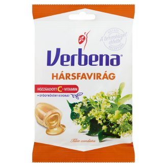 Verbena Linden Blossom Flavoured Sweets with Vitamin C 60 g