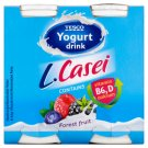 Tesco L.Casei Low-Fat Forest Fruit Flavoured Yoghurt Drink with Vitamin B₆ and D 4 x 100 g