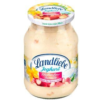 Landliebe rebarbara és vanília ízű joghurt 500 g