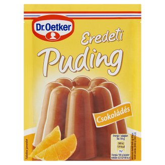 Dr. Oetker Eredeti Puding Chocolate Flavoured Pudding Powder 49 g