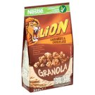 Nestlé Lion Granola Caramel and Chocolate Crunchy Cereals with Oat Flakes and Calcium 300 g