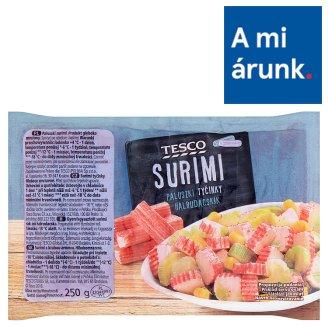 Tesco gyorsfagyasztott surimi rák ízű halrudacska 250 g