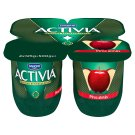 Danone Activia Low-Fat Red Apple Flavoured Yoghurt with Live Cultures 4 x 125 g
