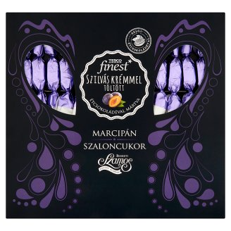 Tesco Finest Marzipan Christmas Candies with Plum Cream Covered in Dark Chocolate 300 g