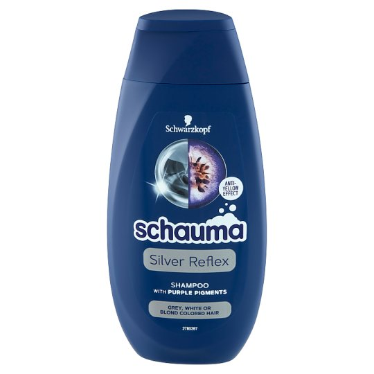 Schauma Silver Reflex Shampoo for Grey, White or Blond Colored Hair 250 ml