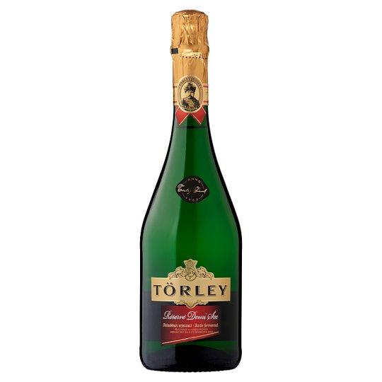 Törley Réservé Demi Sec félszáraz, fehér minőségi pezsgő 0,75 l