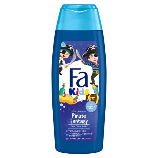 Fa Kids Shower Gel for Pirates (for Boys) 250 ml