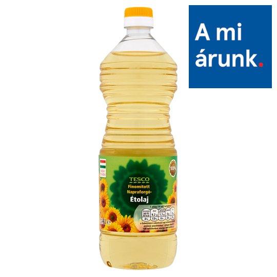 Tesco Refined Sunflower Oil 1 l