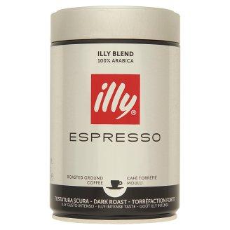 Illy Espresso darált sötét pörkölésű kávé 250 g