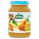 Ovko glutén- és tejszármazékmentes körte bébidesszert 4 hónapos kortól 190 g