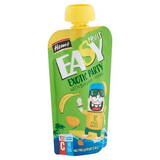 Hamé Easy Fruit Exotic Party Baby Dessert with Exotic Fruits 5+ Months 110 g