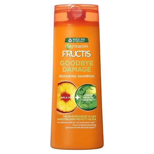 Garnier Fructis Goodbye Damage sampon nagyon igénybevett hajra 400 ml