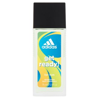 Adidas Get Ready! Deodorant Natural Spray for Him 75 ml