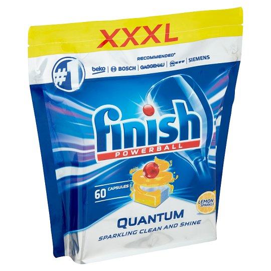 Finish Quantum Max Lemon Sparkle Dishwasher Tablets 60 pcs