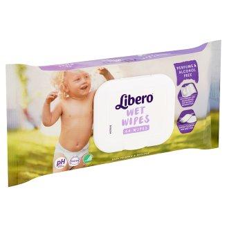Libero nedves törlőkendő nyugtató repcemagolajjal 64 db