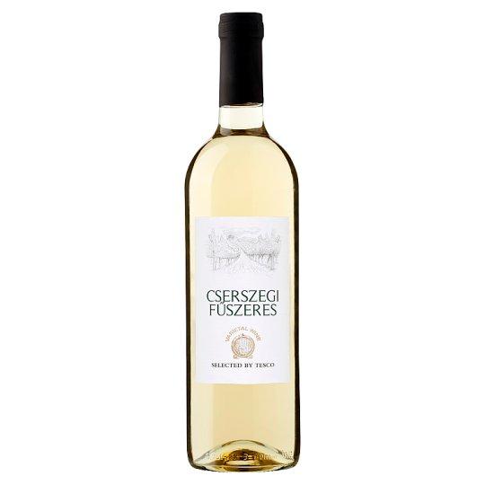 Duna-Tisza Közi Cserszegi Fűszeres Semi-Sweet White Wine 10,5% 750 ml