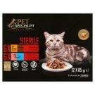 Tesco Pet Specialist Premium teljes értékű eledel felnőtt ivartalanított macskák számára 12 x 85 g