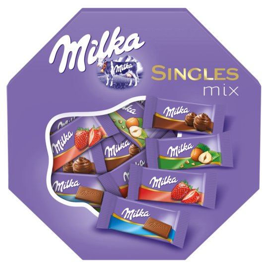 Milka Singles Mix Alpine Milk Chocolate Mix 138 g