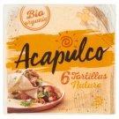 Poco Loco Acapulco BIO lágy tortilla lapok búzalisztből 6 db 240 g