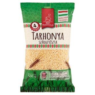 Séf Konyhája Egg Barley Dry Pasta with 4 Eggs 500 g