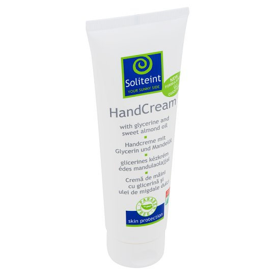 Soliteint Hand Cream with Glycerine and Sweet Almond Oil 125 ml