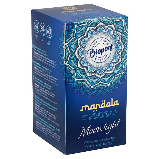 Biopont Mandala Moonlight Filtered Organic Spice Tea 20 Tea Bags 2 g