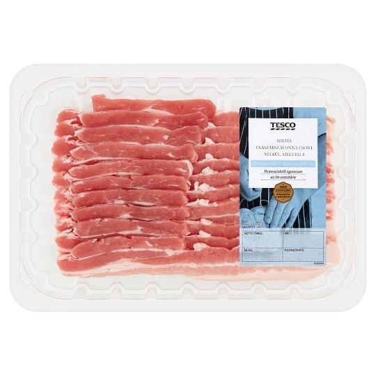 Tesco Sliced Pork Kaiser Bacon without Bones 320 g