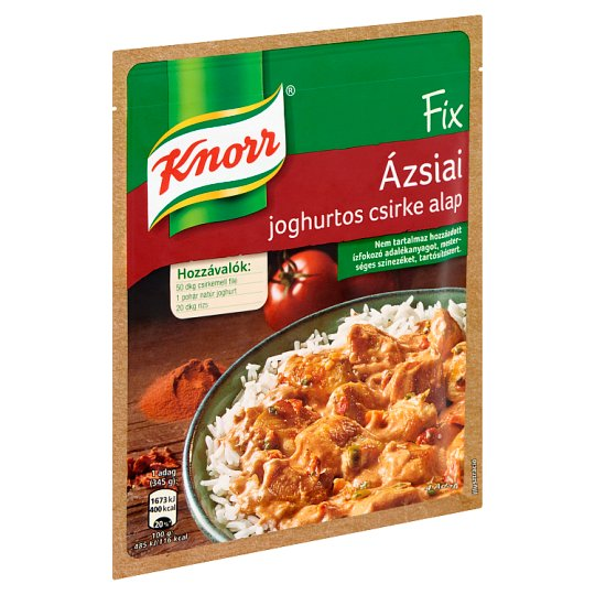 Knorr Fix Mixture for Asian Style Chicken with Yogurt 48 g