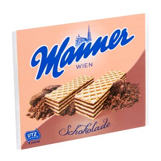 Manner Wafers Filled with Chocolate Cream 75 g