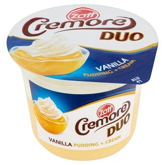 Zott Cremore Duo vanília ízű puding tejszínhabbal 200 g