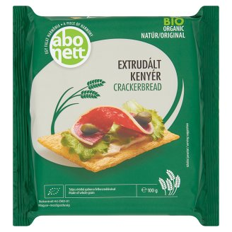 Abonett Organic Original Extruded Crackerbread 100 g