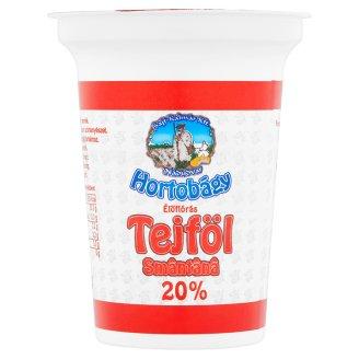 Hortobágy Sour Cream 20% 375 g