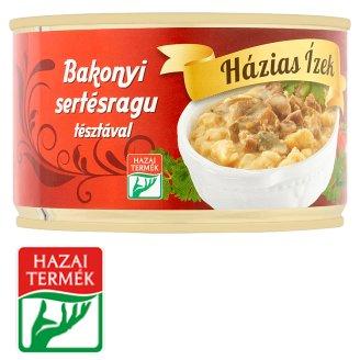Házias Ízek Bakonyi Pork Ragout with Noodles 400 g