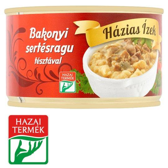 Házias Ízek bakonyi sertésragu tésztával 400 g