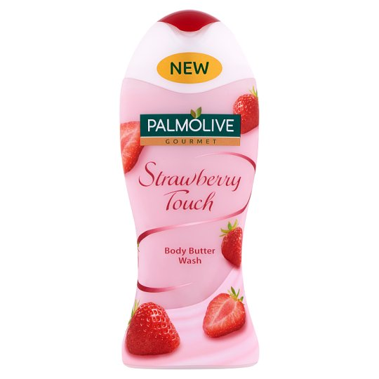Palmolive Gourmet Strawberry Touch Body Butter Wash 250 ml
