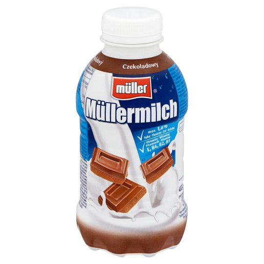Müller Müllermilch Low-Fat Chocolate Drink 373 ml