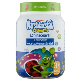 Marslakócskák Gummi Strawberry & Cherry Flavoured Multivitamin 3+ Years 60 pcs 210 g