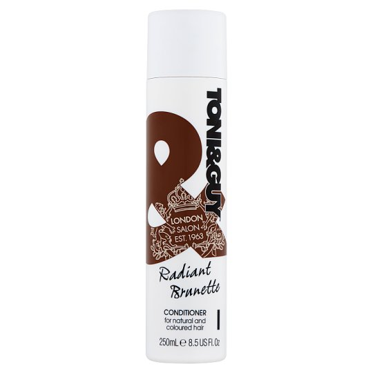 Toni&Guy Radiant Brunette Conditioner for Natural and Coloured Hair 250 ml