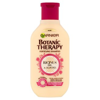 Garnier Botanic Therapy Ricinus Oil & Almond Shampoo for Weak and Damaged Hair 250 ml