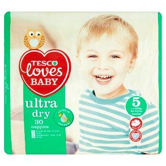 Tesco Loves Baby Ultra Dry 5 Junior nadrágpelenka 11-25 kg 30 db
