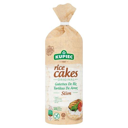 Kupiec Slim Original gluténmentes natúr puffasztott rizskeksz 90 g