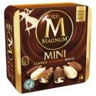 Magnum Mini Almond-White Chocolate-Classic Vanilla Multipack Ice Cream 6 x 60 ml